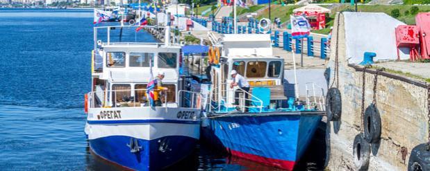 Порт Саратова принял вернувшуюся «Флотилию плавучих университетов»