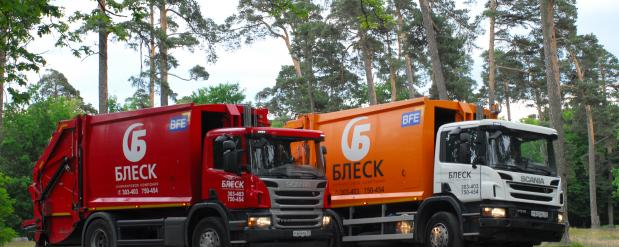 На маршруты Саратова в праздники выйдет увеличенное количество мусоровозов